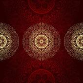 Vintage floral background — Stock Vector