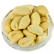 Stock Photo: Peanuts in glass plate