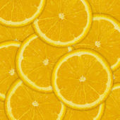 Abstract background of orange fruit slices — Stock Photo