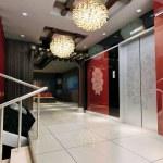 3d elevator lobby rendering — Stock Photo #19280927