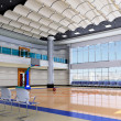 3d indoor gymnasium — Stock Photo