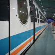 Shanghai maglev train - Stock Photo
