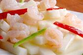 China delicious food--shrimp — Stock Photo