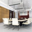 3d meeting room — Stock Photo #20025591