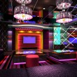 3D club room, hall — Stock Photo #20033997
