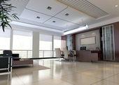 3d moderních kancelářských prostor — Stock fotografie