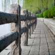 Stock Photo: Guardrail