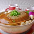 Chinese food- stewed turtle — Stock Photo #20321041