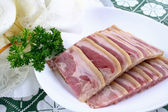 Chinese food- garlic white meat — ストック写真
