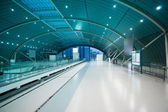 Maglev train station — Stock Photo