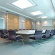 3d meeting room — Stock Photo #21464009