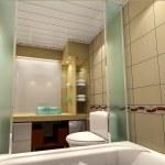 3d bathroom — Stock Photo #22454213