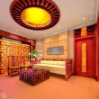 Stock Photo: 3d render modern interior of living-room