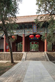 Kina taishan gamla byggnader, daimiao — Stockfoto