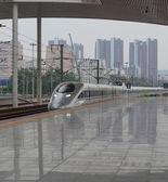Stazione ferroviaria ad alta velocità — Foto Stock