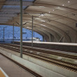 High speed rail station — Stock Photo