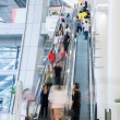 Busy shopping mall — Stock Photo