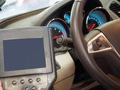 Testing automobile — Stock Photo
