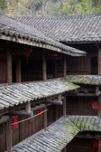 Hakka tulou located in fujian, china — Stock Photo