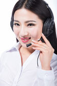 Customer support — Stock Photo
