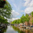Stock Photo: Amsterdam canal view