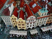 Prague Panorama View — Stock Photo