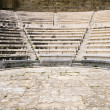 Ancient theater (Hellenic Odeon) at Rhodes island, Greece — Stock Photo