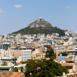 Lycabettus hill at Athens, Greece. — Stock Photo