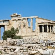 Temple of Erechtheum, Acropolis, Athens, Greece — Foto Stock