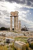 Ancient Acropolis of Rhodes — Stock Photo