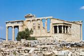 Temple of Erechtheum, Acropolis, Athens, Greece — Stock Photo
