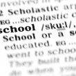 Stock Photo: School word dictionary