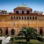 Church of God's holy Sophia at Thessaloniki, Greece — Stock Photo #19903667