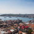 Panoramic view of Istanbul and Bosphorus from Galata Tower — Stock Photo #26567325