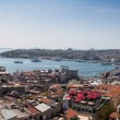 Panoramic view of Istanbul and Bosphorus from Galata Tower — Stock Photo