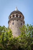 Galata tower , Istanbul, Turkey — Stock Photo