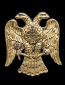 Double Headed Eagle — Stock Photo