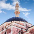 Mosque of Suleimaniye at daylight, Rhodes island,  Greece — Stock fotografie