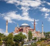 собор святой софии, ayasofya, стамбул, турция — Стоковое фото