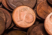 One Euro Cent coin — Stock Photo