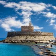 Fort Saint Nicolas Rhodes, Greece — Stock Photo #44049017