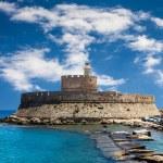 Fort Saint Nicolas Rhodes, Greece — Stock Photo #44049017