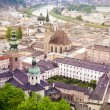 Salzburg city view - Stock Photo