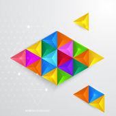 Abstract geometrical background. — Wektor stockowy