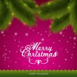 Merry Christmas background design. — Stock Vector #29710917