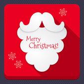 Merry Christmas holiday greeting — Stock Vector