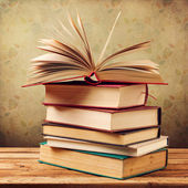 Vintage old books — Stock Photo