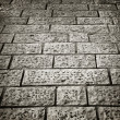 Stone road texture background — Stock Photo