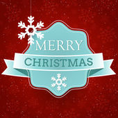 Christmas greeting card design. — Stock Vector