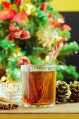 Hot Christmas drink  — Stock Photo